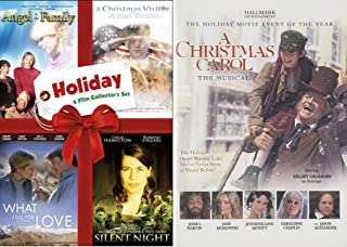 Movie Event Musical A Christmas Carol Hallmark DVD + What I Did For Love / Silent Night / Christmas Visitor & Angel in the Family
