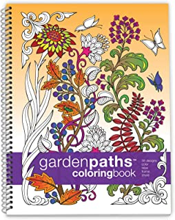 Action Publishing Coloring Book: Garden Paths · Garden Scenes and Intricate Animal Designs for Stress Relief, Relaxation a...