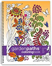 Libro de colorear Action Publishing: Caminos de jardín