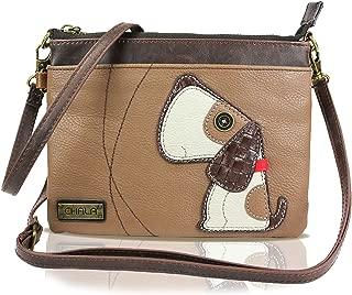 Bolsos de hombro Bolsos redondos de mujer Doodle Dog Paw