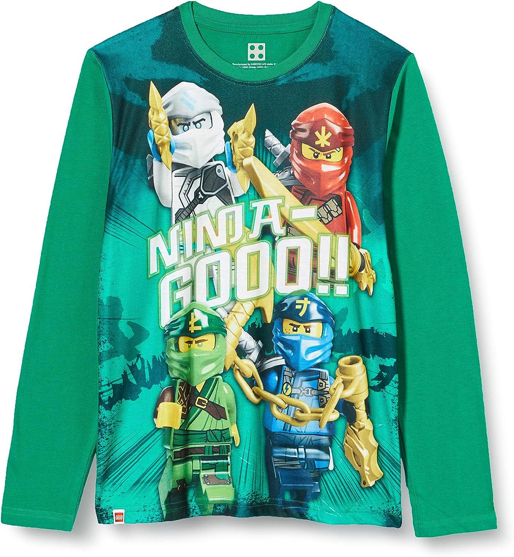 LEGO Mwh-Langarmshirt Ninjago T-Shirt Fille