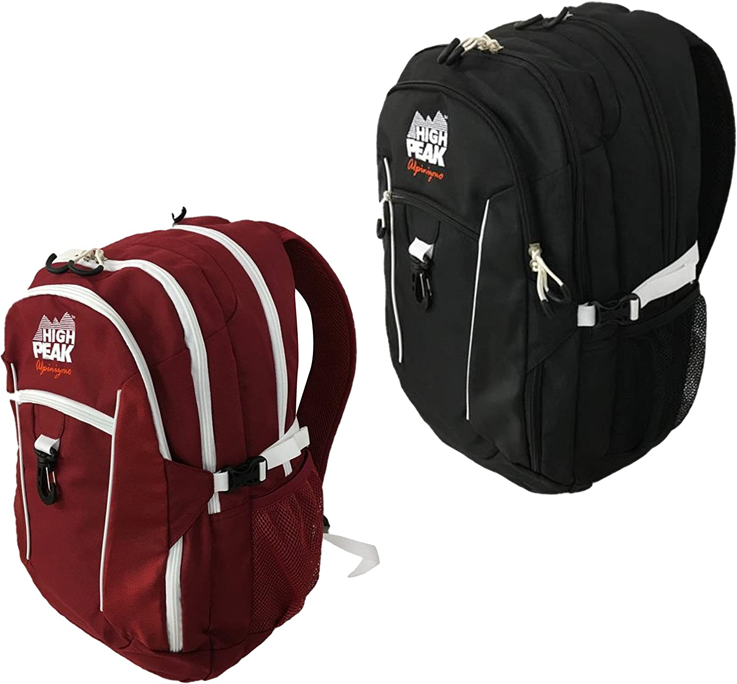 High Peak USA Alpinizmo Vector Combo Set Backpack Red black One Size
