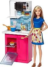 Barbie Bebek ve Oda Setleri Serisi Oyuncak Mutfak Seti - Barbie