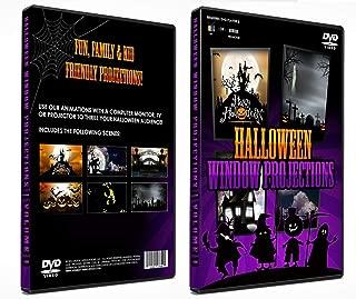 Halloween Digital Window Decoration DVD Vol 1 - Kid Friendly!