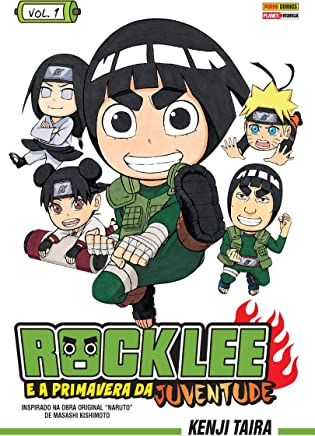 Rock Lee e a Primavera da Juventude - Volume 1