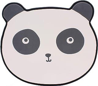 Tapis d'enfant Animal Motif Panda-Ours Gris Flatflor Moderne Chambre d'enfant