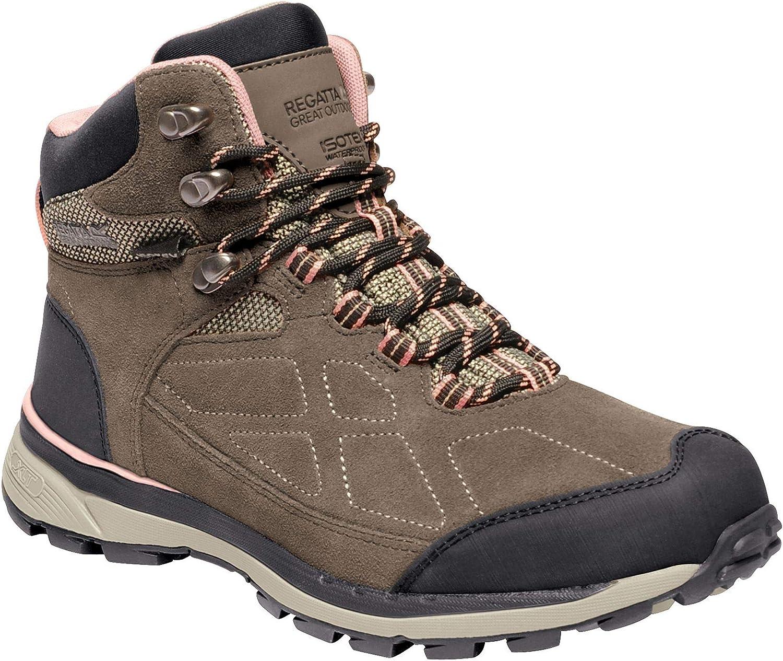 Regatta Womens Ladies Samaris Suede Walking Boots