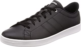 Adidas Women's Advantage Clean Qt Low-Top Sneakers, Core Black/Footwear White 0, 5 UK 38 EU,Db1370