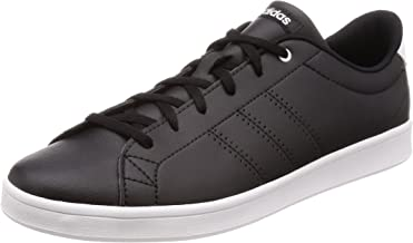 Adidas Women's Advantage Clean QT Low-Top Sneakers, Core Black/Footwear White 0, 4.5 UK 37 1/3 EU,DB1370