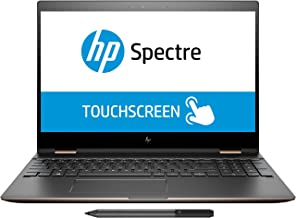 HP Spectre x360 15T 15.6 2018,4K UHD,2-in-1 Touch,Intel i7-8550U QUAD CORE,16GB RAM,512GB SSD,Windows 10 PROFESSIONAL,Numpad & Fingerprint Reader,B&O Speakers,3 Years McAfee Internet Security