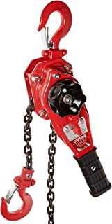 Coffing LSB-1500B-10 Steel LSB-B Model Ratchet Lever Hoist with Hook, 10' Lifting Height, 3/4 Ton Load Capacity by Coffing