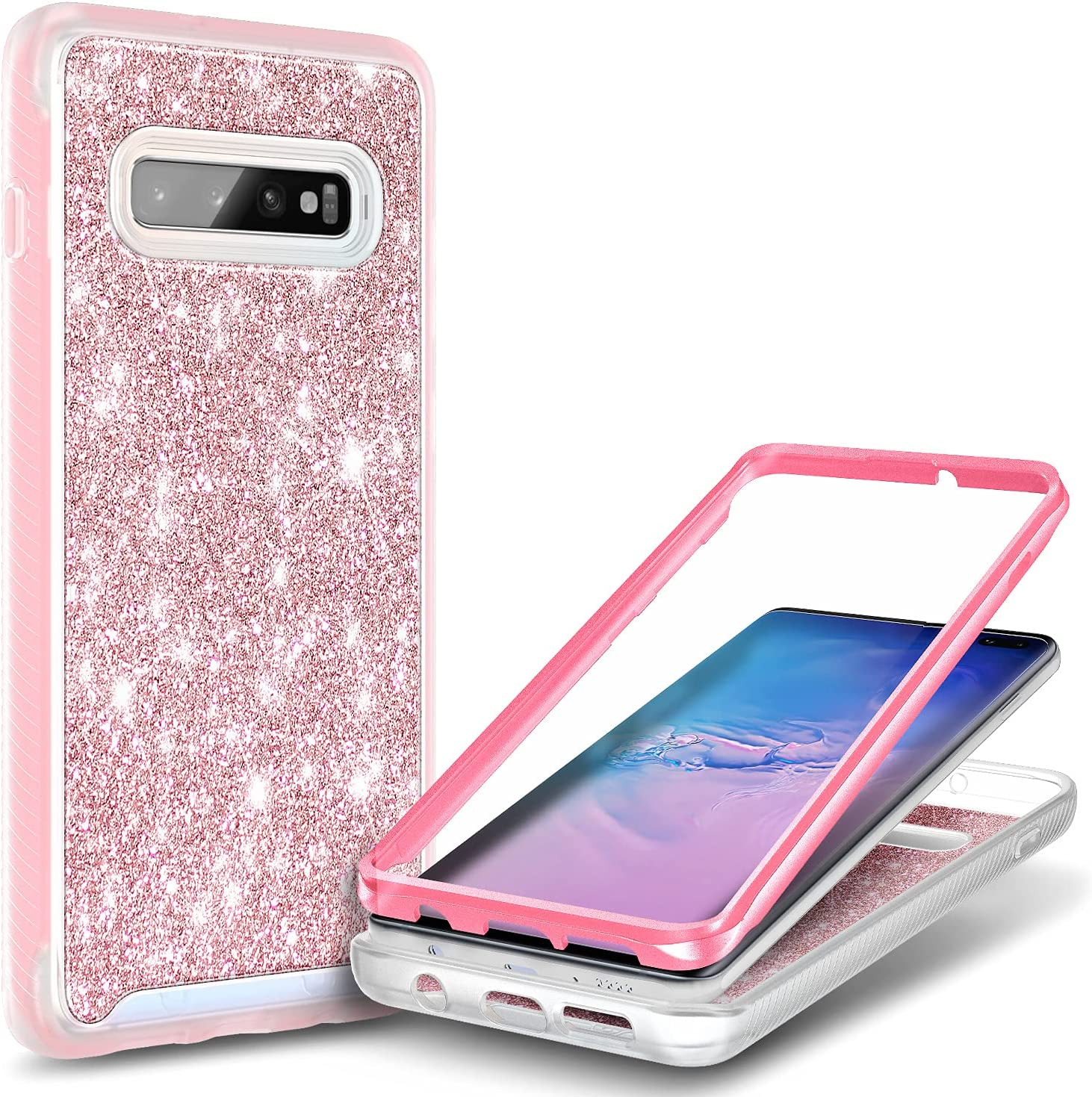 E-Began Cheap Case for Samsung Ranking TOP18 Galaxy S10+ Full-Body Plus Shockproof