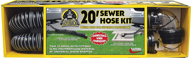 Valterra D04-0675 20' Silverback Ranking TOP15 Kit Hose Sewer latest