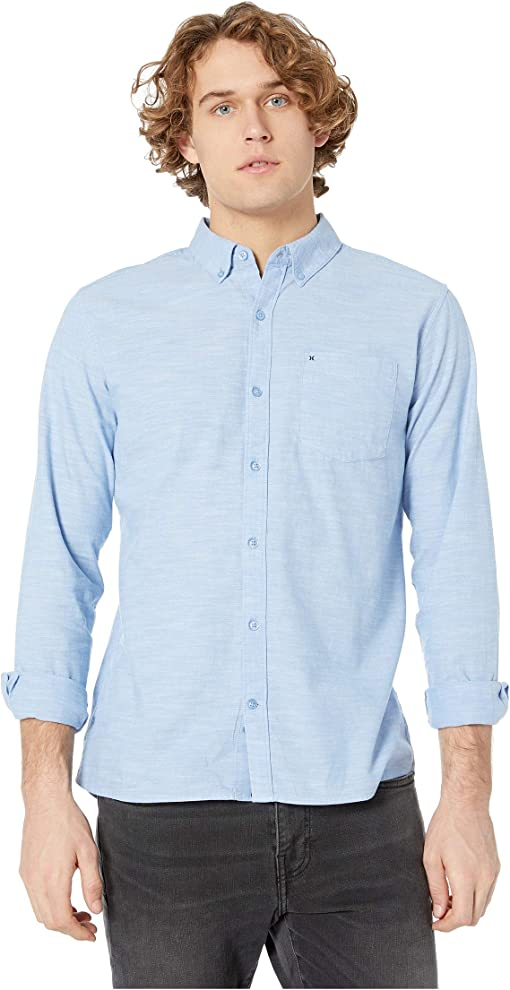 Blue Oxford
