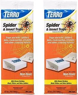 TERRO Spider & Insect Traps (8 Traps, Multi)