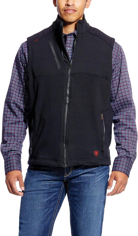 Ariat FR Polartec Outlet SALE Platform Vest - Men's Work Ves In a popularity Sleeveless