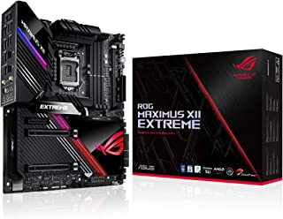 ASUS ROG Maximus XII Extreme Z490 (WiFi 6) LGA 1200(Intel 10th Gen) EATX Gaming Motherboard (16 Power Stages, 10 G & Intel...