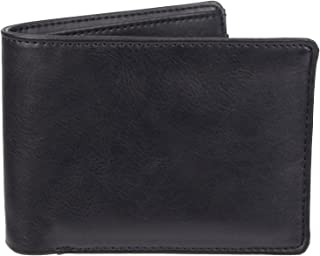 Exact Fit mens Rfid Extra Capacity Stretch Expandable Wallet Wallet