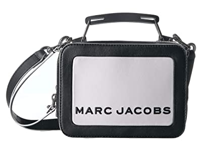 Marc Jacobs The Box 20 Color Blocked (Cotton Multi) Handbags