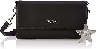 Trussardi Jeans T-Easy Clutch Charm Star Logo, Pochette da Giorno Donna, 25x14x1 cm (W x H x L)