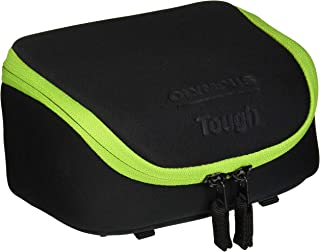 Olympus Tough System Bag for Cameras - Black with Green Trim (202679)