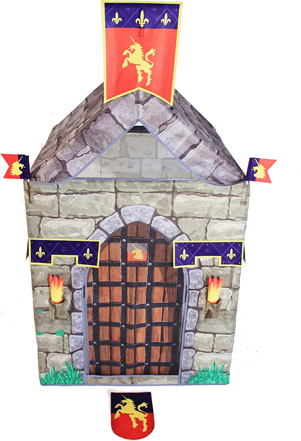 Traditional Garden Games Knight Play Tent Set