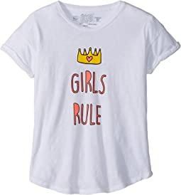 Rule Rolled Short Sleeve Slub T-Shirt (Big Kids)
