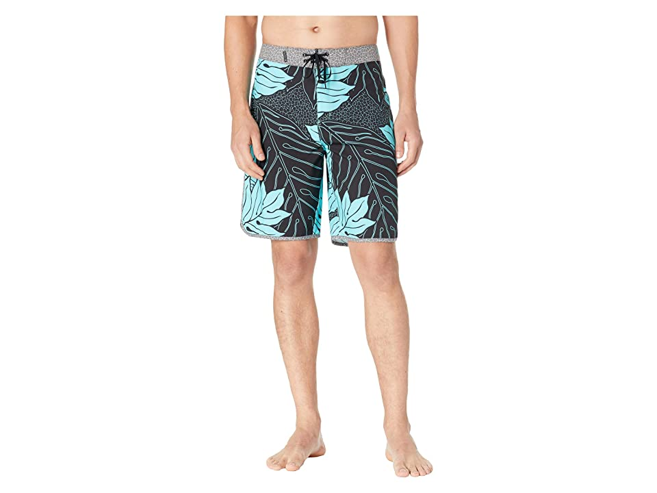 Hurley Phantom Sig Zane 18 Boardshorts (Aurora Green) Men