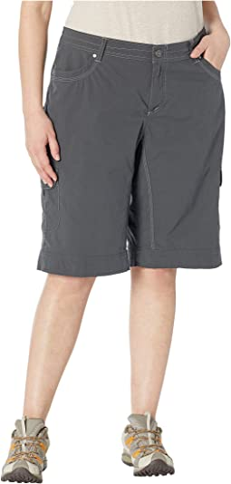 "Plus Size Splash 11"" Shorts"