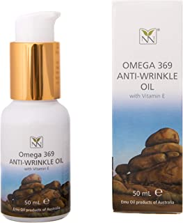 Y-Not Natural Anti Wrinkle Face and Body Oil with Emu Oil, Vitamin E, and Essential Oils - The Ultimate Natural Moisturize...