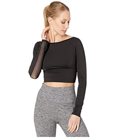 MICHI Rally Crop Top (Black) Women