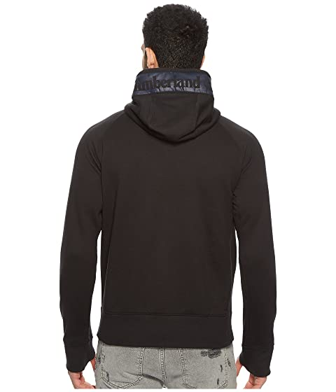 Sale Best Prices Timberland Weir River Full Zip Mixed Media Hoodie Black Buy Cheap Find Great Buy Cheap Countdown Package Clearance Best Cheap How Much LPrzL