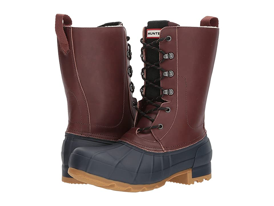 Hunter Original Insulated Pac Boot (Burnt Sienna/Navy) Men