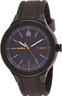 تيميكس ساعة عملية كاجوال رجال انالوج بعقارب سيليكون - TW5M16900