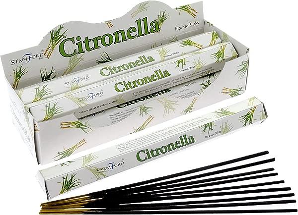 Stamford Citronella Incense 20 Sticks X 6 Packs