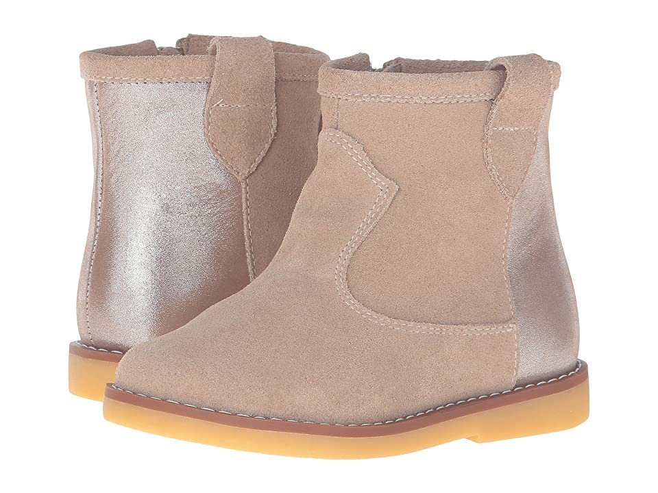 Elephantito Color Block Bootie (Toddler/Little Kid/Big Kid) (Sand) Girls Shoes