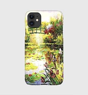 Claude Monet cover per iPhone 12mini, 12, 12 pro, 12 pro max, 11, 11 pro, 11 pro max, XS, X, X max, XR, SE, 7+, 8, 7, 6+, ...