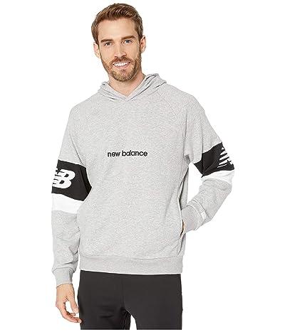 New Balance Athletics Classic Hoodie (Athletic Grey) Men
