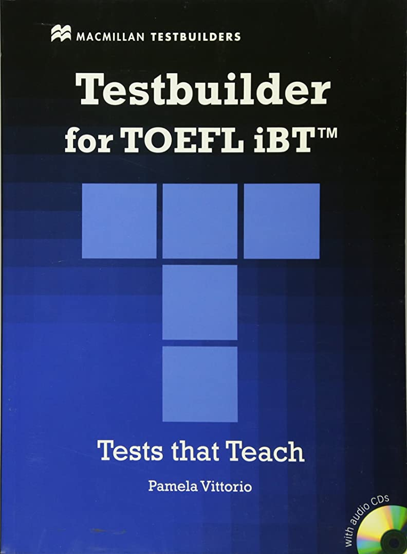 海外で試してみるレーザTestbuilder for TOEFL iBT(TM). Student's Book