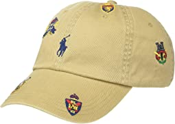 Luxury Tan/RL Crest Embroidered