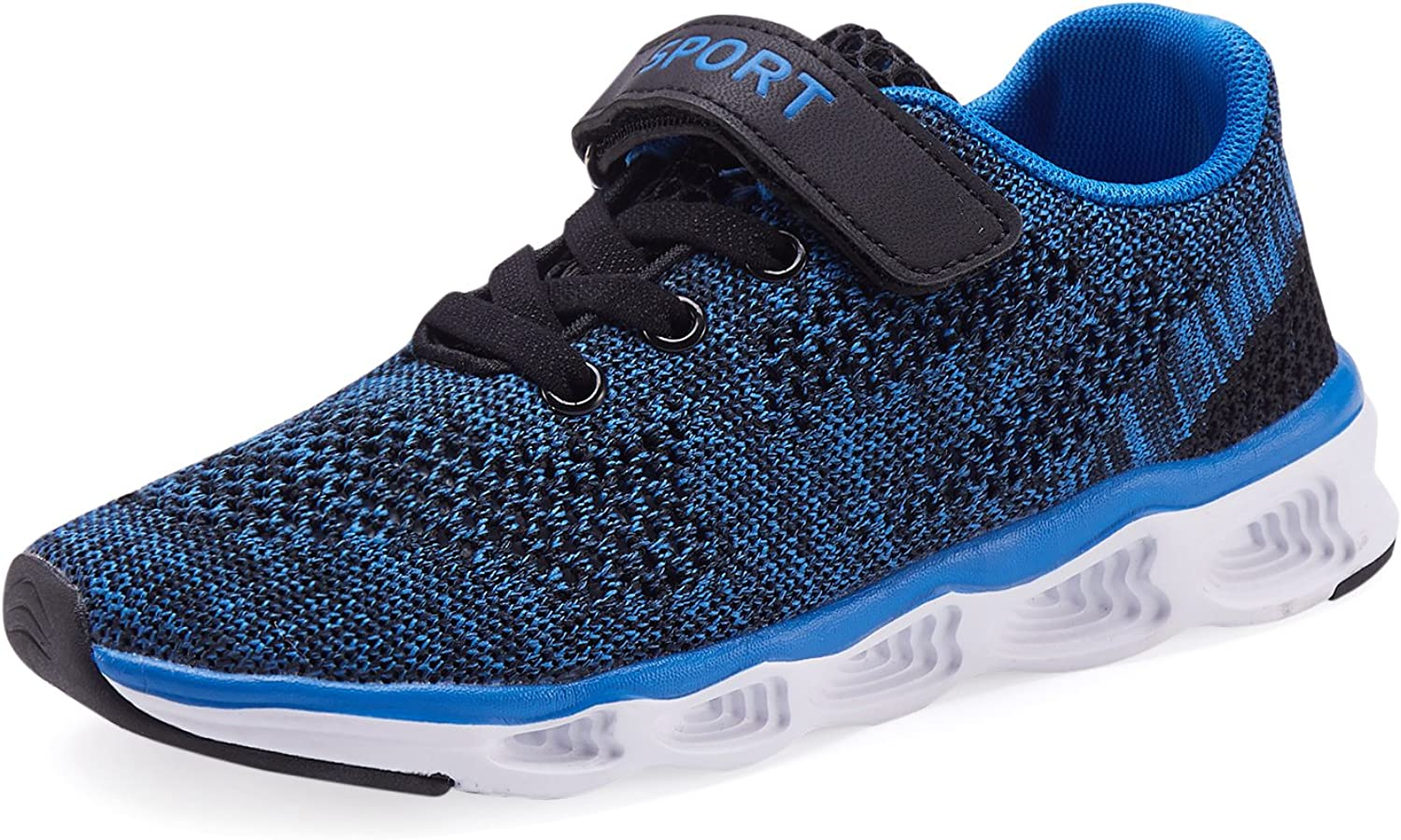 Casbeam Toddler Kid's Lightweight Sneakers Boys and Girls Cute Casual Running Shoes