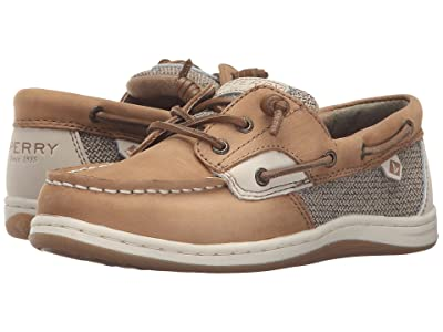 Sperry Kids Songfish (Little Kid/Big Kid) (Linen/Oat) Girl