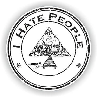 Suchergebnis Auf Für I Hate People Aufkleber Merchandiseprodukte Auto Motorrad