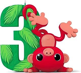 Hallmark Keepsake Christmas Ornament, Toddler I Am Three! Child's 3rd Year Age Series