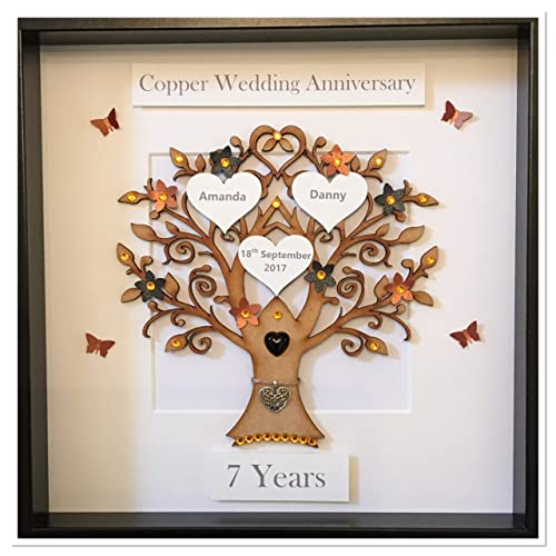 7th Wedding Anniversary.Copper Wedding Anniversary Gifts Amazon Co Uk