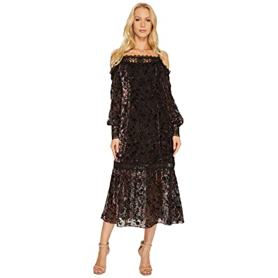 Nanette Lepore Picadilly Dress (Black Multi) Women