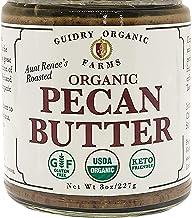 USDA Certified Organic Pecan Butter, Handmade, Small batches, Keto Friendly, Gluten Free, All Natural, made of Organic Pec...