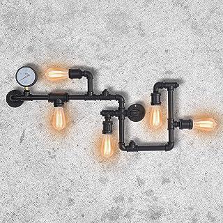 PAKOKULA Vintage Appliques Murales Interieur, Rétro Applique Murale Luminaire Exterieur, Steampunk Luminaires Intérieur, A...