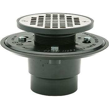 Shower ❷ in ❶ ↻ Flat 54mm Stainless Steel Floor Drain Drain Channel Siphon █▬█ ▀█▀