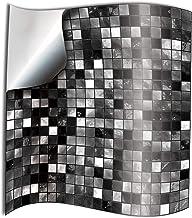 Silber Nahtlinie Tile Selbstverklebung Heimwasserdicht Fu/ßboden-Aufkleber Badezimmer-Dekor Wasserdicht 50m Color : Gold foil, Size : Small Gold
